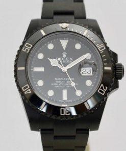 Replica horloge Rolex Submariner 15 Date (40mm) Date 116610LN Black-PVD steel- Automatic-Top kwaliteit!