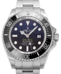 Replica horloge Rolex Sea Dweller Deepsea 06 (James Cameron) 126660 Blue Blauw/Zwarte wijzerplaat (44mm) Automatic top kwaliteit!