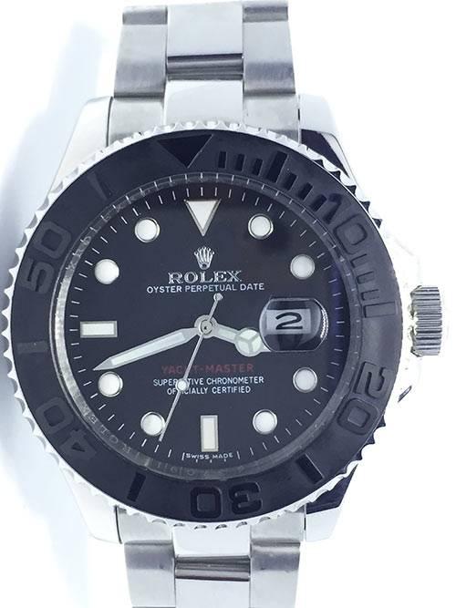 Replica horloge Rolex Yacht master 05 (42mm) 226659 Staal en Zwarte wijzerplaat