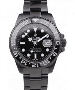 Replica horloge Rolex Gmt-Master ll 07 (40mm) 116710 Limited Edition /35 Black Venom-Automatic -Top kwaliteit!