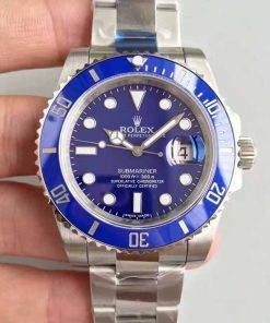 """Replica horloge Rolex Submariner 03 (40mm) 116619LB """"Blauw""""/316L roestvrije staal/automatische uurwerk"""