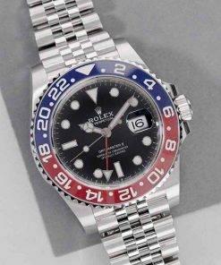"Replica horloge Rolex Gmtmaster ll 08 (40mm) 126710BLRO ""Pepsi"" Jubilee"