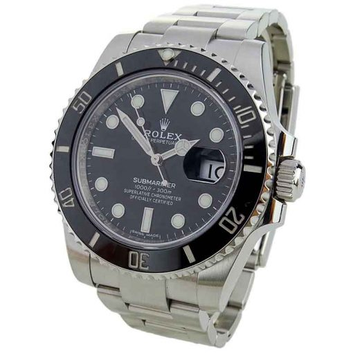 Replica horloge Rolex Submariner 01 (40mm) 116610LN Date Black Oystersteel-staal -Automatic-Top kwaliteit!