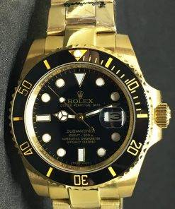 Replica horloge Rolex Submariner 06 Date 126618LN (40mm) Gold