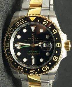 Replica horloge Rolex Gmtmaster ll 09 (40mm) Bi-color