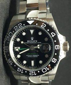 Replica horloge Rolex Gmtmaster ll 10 (40mm) Staal