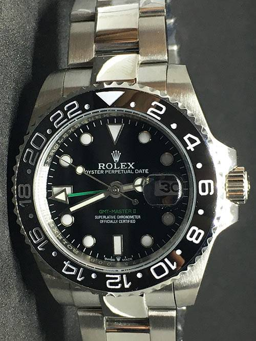 Replica horloge Rolex Gmtmaster ll 10 (40mm) Staal