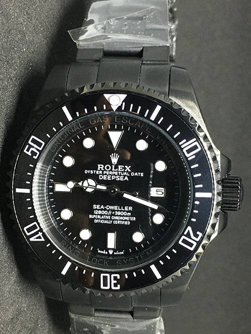 Replica horloge Rolex Sea Dweller 03 (44mm) Jacques Piccard Edition 116660 Black