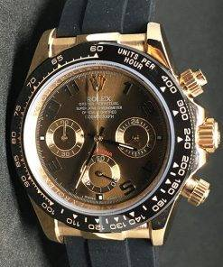 Replica horloge Rolex Daytona 02 cosmograph (40mm) Gold Chocolate