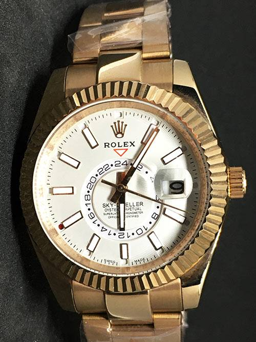 Replica horloge Rolex Sky dweller 03