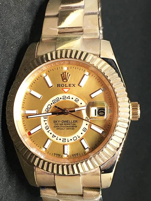 Replica horloge Rolex Sky dweller 04 (42mm)
