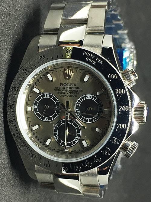 Replica horloge Rolex Daytona 04 cosmograph (40mm) Grijs