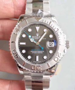 Replica horloge Rolex Yacht master 02 (40mm) 116622 Rhodium Dial (2021) Oyster Platinum-Automatic-Top kwaliteit!