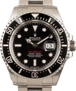 Replica horloge Rolex Sea Dweller 04 (43mm) 126600 Zwarte wijzerplaat (Datumloep) Automatic Top kwaliteit!