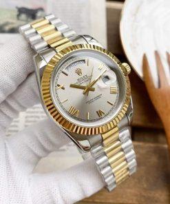 Replica horloge Rolex Day-Date 19 (40mm) (Bi-color ) 228238 president band Automatic