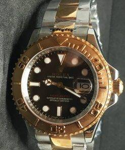 Replica horloge Rolex Yacht master 03 (40mm) 126621 Chocolate Bi-Color
