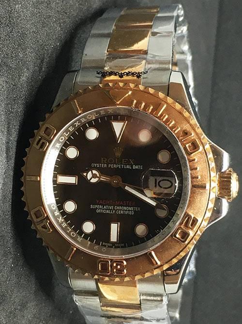 Replica horloge Rolex Yacht master 03 (40mm) 126621 Chocolate Bi-Color