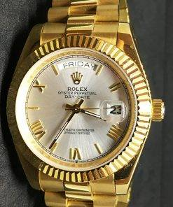 Replica horloge Rolex Day-Date 19 (40mm) Yellow gold ) 228238