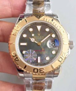 Replica horloge Rolex Yacht master 03 (40mm) 126621 Oystersteel-staal-Rose gold Chocolate Bi-Color-Automatic-Top kwaliteit!
