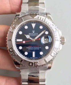 Replica horloge Rolex Yacht master 06 (40 mm) 126622 Blauwe wijzerplaat-Oystersteel-automatic-Top kwaliteit!