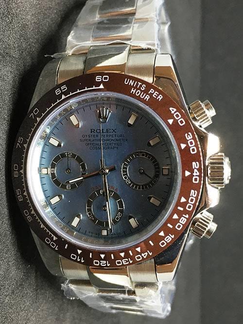 Rolex Daytona ice blue platinum 116506