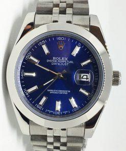 Replica horloge Rolex Datejust 22 (40mm) 126300 Jubilee (Blauwe wijzerplaat)