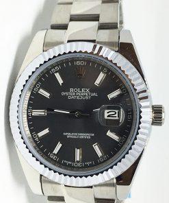 Replica horloge Rolex Datejust 20 (40mm) 126334 Oyster (Grijze wijzerplaat)