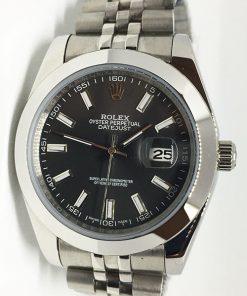 Replica horloge Rolex Datejust 21 (40mm) 126300 Jubilee (Grijze wijzerplaat)