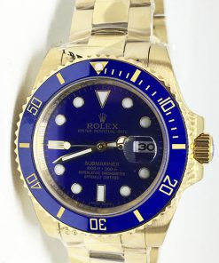 Replica horloge Rolex Submariner 07 Date (41mm) 126618LB (Gold)