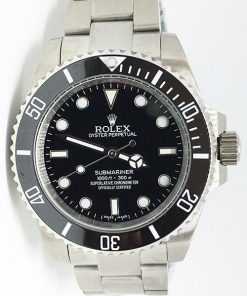 Replica horloge Rolex Submariner 07(41mm) 124060 Black (zonder Date)
