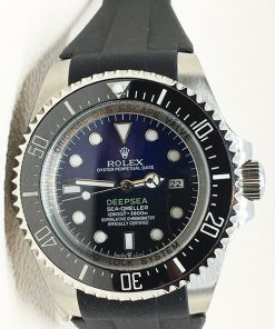 Rolex Sea Dweller 05 Deepsea (44mm) James Cameron 126660 D-Blue Blauw/Zwarte wijzerplaat,Rubber