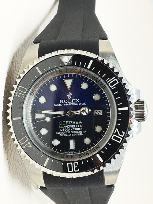 Rolex Sea Dweller 05 Deepsea (44mm) James Cameron 126660 D-Blue Blauw/Zwarte wijzerplaat,Rubber