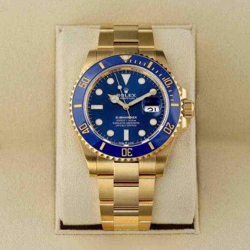 Replica horloge Rolex Submariner 07 Date (41mm) 126618LB (Gold) Automatic-Top kwaliteit!