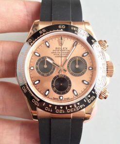 Replica horloge Rolex Daytona 18 cosmograph (40mm) 116515LN Rose Gold