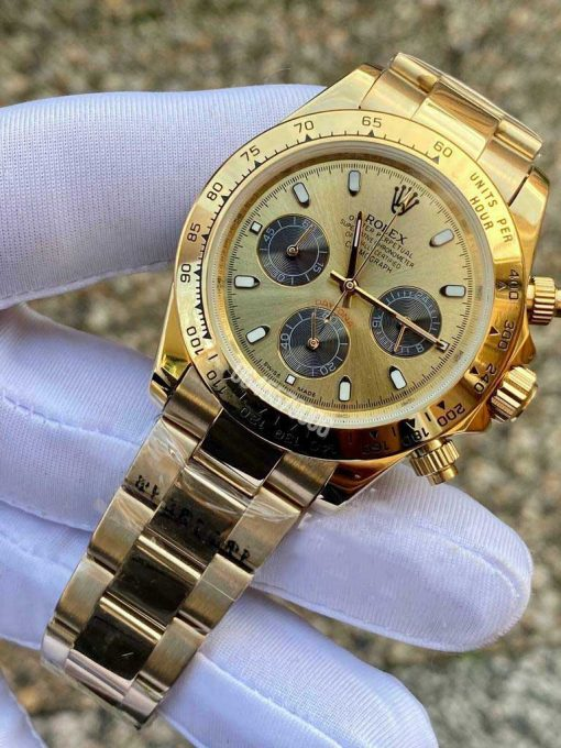 Replica horloge Rolex Daytona 22 cosmograph (40mm) 116505 Rose Gold