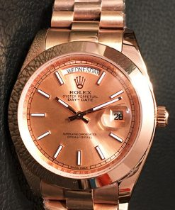 Replica horloge Rolex Day-Date 08/3 (40mm) Goude wijzerplaat(President band)
