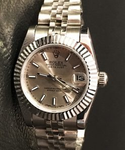 Replica horloge Rolex Datejust Dames 11 (28 mm) (Jubilee band) ( Grijze wijzerplaat) Automatic