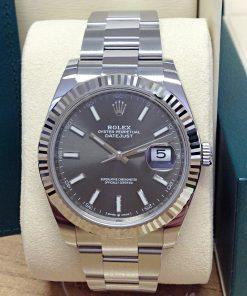 Rolex replica Datejust 41mm 126334 Rhodium Dial 1