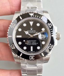 Replica horloge Rolex Submariner 01 (41mm) 126610LN Date/ Black /Automatic [Zwarte wijzerplaat] 2020 (Oysterband)