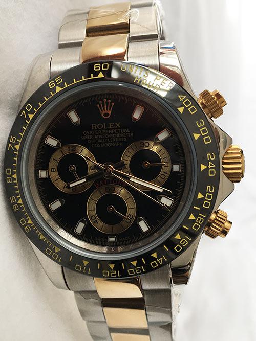 Replica horloge Rolex Daytona 24 cosmograph (40mm) 116505 Bi-color-Gold