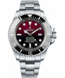 Replica horloge Rolex Sea Dweller Deepsea 07 126660 Rood/Zwarte wijzerplaat (44mm) Red edition Automatic top kwaliteit!