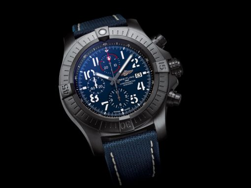 Breitling Super Avenger Chronograph Night Mission front
