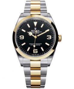 Replica horloge Rolex Explorer 02 (36mm) 124273 Zwarte wijzerplaat Top kwalteit/ Automatic/ 316L