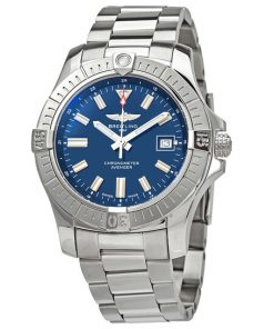 breitling avenger automatic blue dial mens watch aca