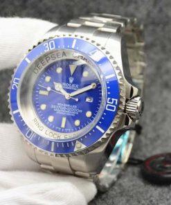 Replica horloge Rolex Sea Dweller Deepsea 09 Challenge Edition 116660 groene wijzerplaat (52 mm) Automatic top kwaliteit!