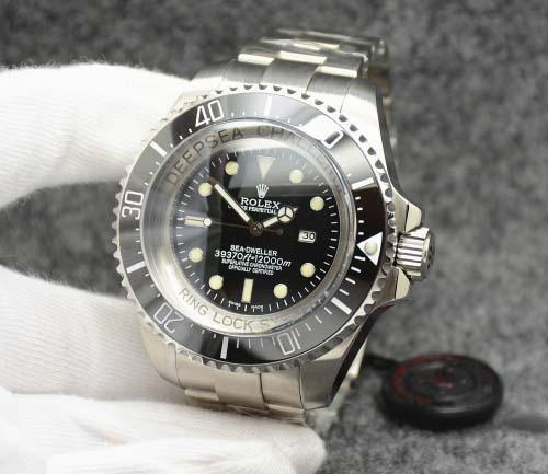 Replica horloge Rolex Sea Dweller Deepsea 07 Challenge Edition 116660 Zwarte wijzerplaat (52 mm) Automatic top kwaliteit!