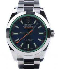 Replica horloge Rolex Milgauss 03 116400GV (40mm) Z-Blue wijzerplaat en groen saffierglas-automatic-Top kwaliteit!